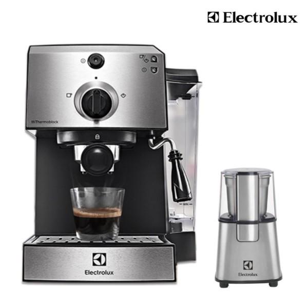 送磨豆機ECG3003S【Electrolux 伊萊克斯】15 Bar半自動義式咖啡機 (E9EC1-100S)