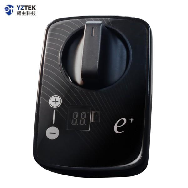 E+自動關 瓦斯爐輔助安全開關 定時自動熄火 特仕版 直式黑 TY-006VB