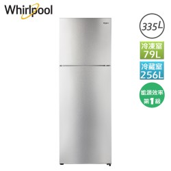 335L 創易上下門冰箱 鈦金鋼 WIT2355G Whirlpool 惠而浦