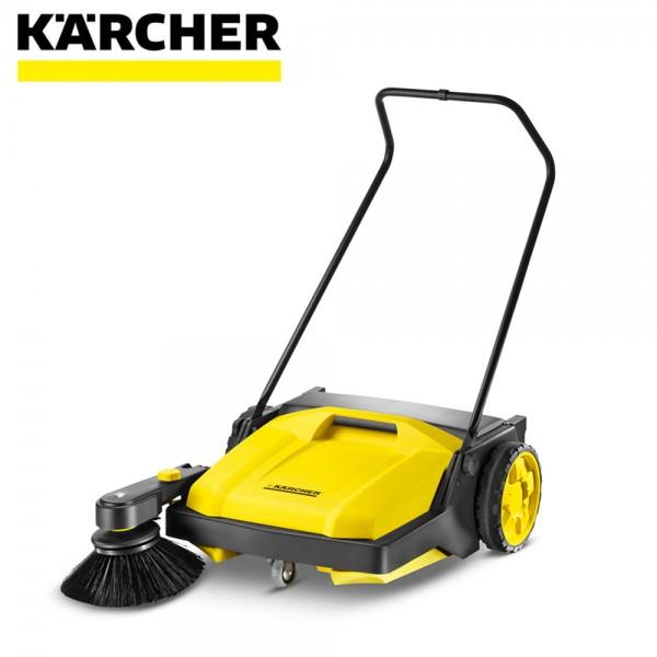 【德國凱馳 Karcher】加大型手推式掃地機 S750 (大面積、粉塵、停車場掃除必備)