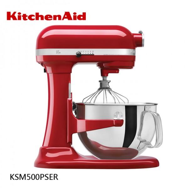 5QT 升降式攪拌機 -紅 KSM500PSER KitchenAid