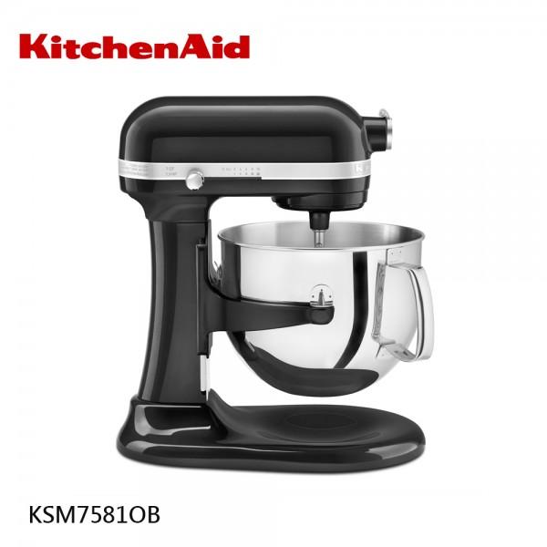 7QT升降式攪拌機 KSM7581OB 黑色 KitchenAid