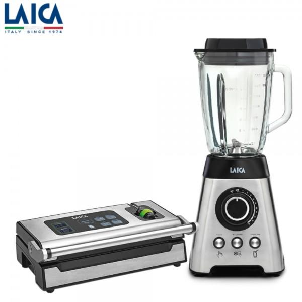【LAICA萊卡】真空調理果汁機 VB3300 (附旗艦款真空封口機VT3240) 真空果汁機 調理機